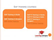 SAP Training Courses: Career Option With Lots Of Opportunities