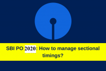 Tips to tackle the sectional timings in the SBI PO prelims