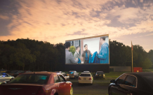 Drive In Theater Equipment   Rent Outdoor Movie Theater