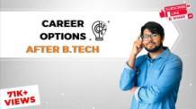 Career Options after B.Tech