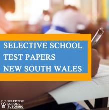 Selective School Test Papers New south wales