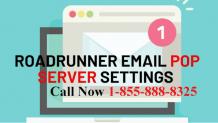 Know Roadrunner Email POP Server Settings 1855-888-8325 Mail Setup