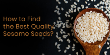 How to Find the Best Quality Sesame Seeds? | Organic Products India
