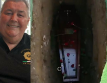 Grandfather of-8 , Shay Bradley 'wakes up' at his funeral as mourners shocked hearing him knocking on coffin