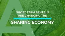 sharing economy - rental industry