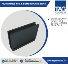 Frameless glass accessories in Canada | TAG Hardware