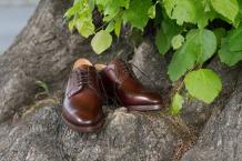 Skye - Men's Handmade Leather Derby Shoe By Barker