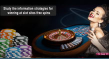 Study the information strategies for winning at slot sites free spins – Beta Zordis Blog