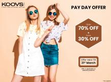 Koovs Cashback Offer