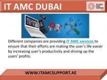 Solution for IT AMC Problems in business in Dubai