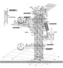 Structural Steel Shop Drawings and Fabrication Drawings
