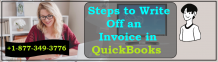 Write Off an Invoice in QuickBooks (Full Steps) +1-877-349-3776