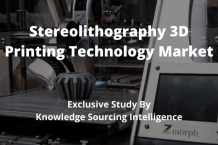 Stereolithography 3D printing technology market
