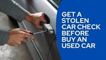 check car if stolen free