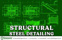 Structural Steel Detailing | Steel Fabrication Drawings Services