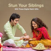 Digital Gifts For Rakhi