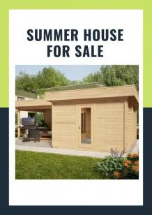 Why Should You Go for Buying a Prefabricated Summer House Available for Sale? - Garden Building