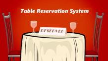 Table Reservation System   Online Reservation   Cherry Berry RMS