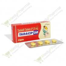 Tadacip 20: Online Cipla Tadacip 20 Mg Reviews, Side Effects, Price | MedyPharmacy