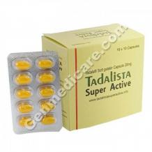 Tadalista Super Active (Tadalafil soft) | up to 50% Off at Genmedicare