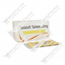 Buy Tadarise 20mg Online, price, side effect, dosage    Medypharma