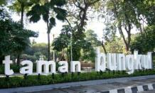Wisata taman Bungkul, ruang terbuka hijau kebanggaan Surabaya