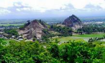 Tempat wisata Tambang Batu Allakuang di Sidrap yang populer