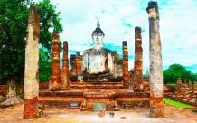 Cómo ir de Ayutthaya a Sukhothai