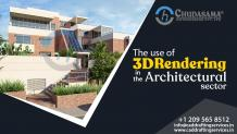 The use of 3D rendering in the Architectural sector