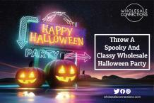 Throw A Spooky And Classy Wholesale Halloween Party