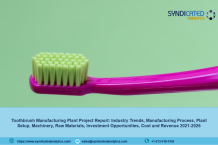 Toothbrush Manufacturing Plant, Cost and Revenue, Project Report, Industry Trends, Machinery Requirements, Business Plan, Raw Materials, 2021-2026 | Syndicated Analytics – Research Interviewer