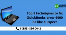 "Ways To Handle Error ""QuickBooks Error 6000 83"" Like A Pro"