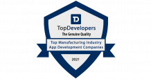 The Top Manufacturing App Development Companies 2021 - Topdevelopers.co