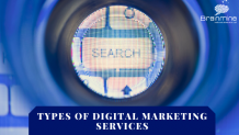 Different types of Digital Marketing Services from Brainmine Web Solutions