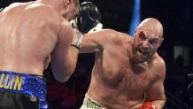 Tyson Fury defeats Otto Wallin in 12 rounds overcomes bloodied eye