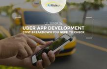 A Complete Uber App development Cost Estimation For Your Taxi Business