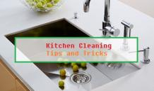 Easy and effective kitchen cleaning tips and tricks
