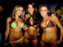 Having a bachelor party hire female Chicago strippers