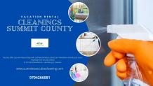 Vacation Rental Cleanings Summit County
