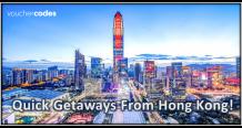 3 Best Short Flight Getaway Destinations Around Hong Kong - VoucherCodes Hong Kong