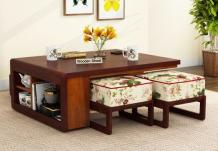 Vesta Coffee Table (Mahogany Finish)