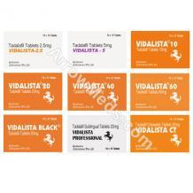 Vidalista Tablet【10% OFF】: #1 Buy Vidalista 5, 10, 20, 40, 60 mg