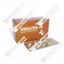 Buy Vidalista 40mg Online, Vidalista 40 Lowest Price    Medypharma