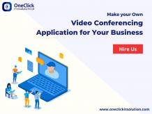 Video Conferencing App Development, Video Calling App Development, Video Chat App Development