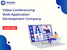Video Conferencing Application Development, Video Chat App Development Company