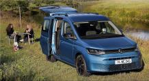 Caddy California - a completely new and amazing family van
