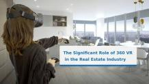 The Significant Role of 360 VR in the Real Estate Industry - Mewara Outsourcing