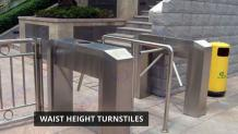 What makes the Waist Height Turnstiles so Effective for Crowd Control?