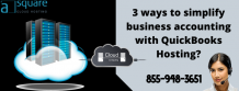 3 ways to simplify business accounting with QuickBooks Hosting? - CLOUD HOSTING