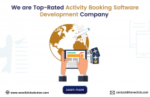 We are Top-Rated Activity Booking Software Development Company